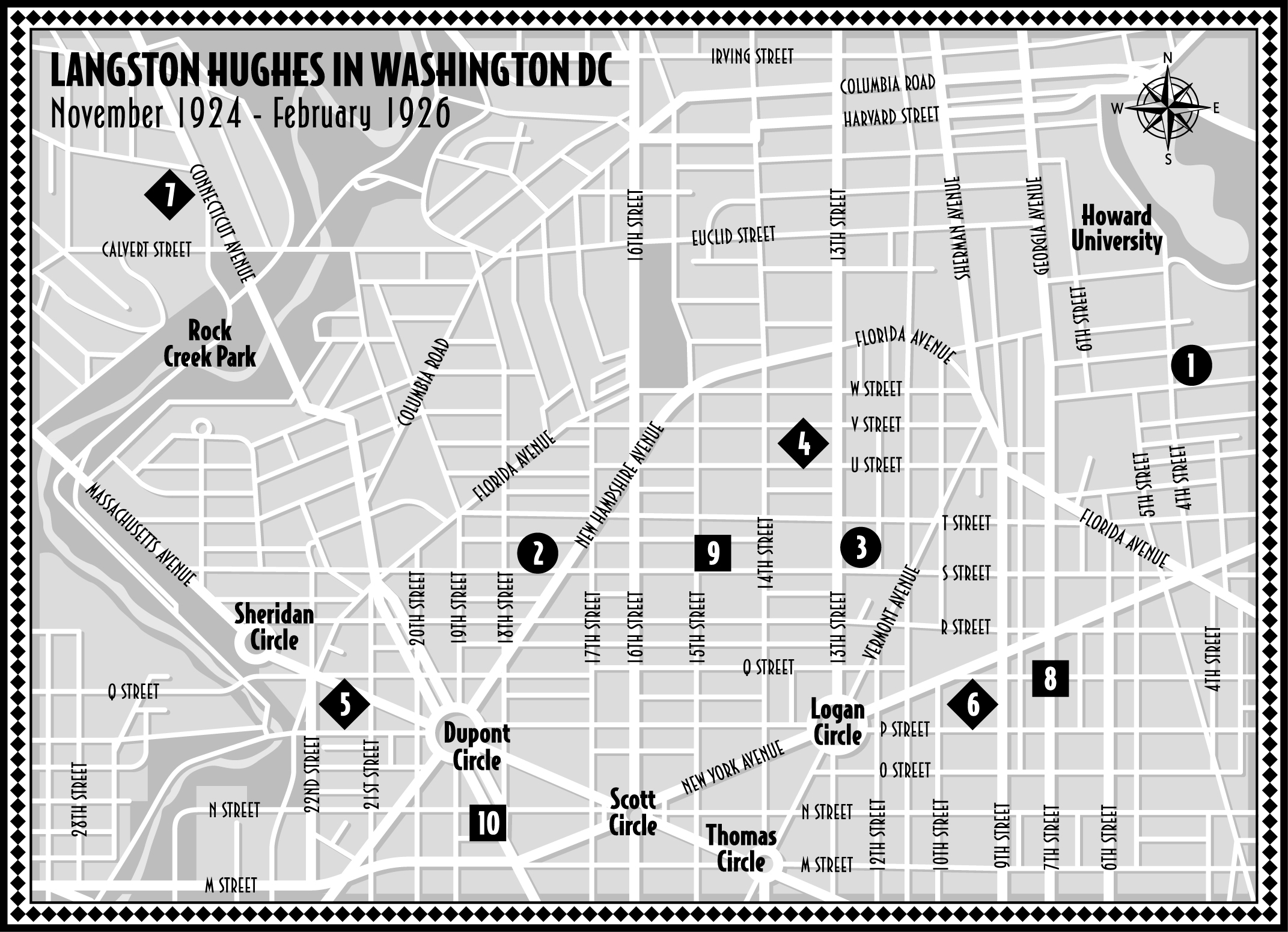 Langston University Campus Map.Kim Roberts On Langston Hughes